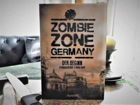Zombie-Zone-Germany-Buchcover: Regierungsgebäude in Berlin