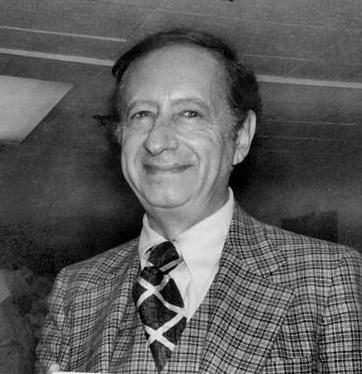 """Der Autor von """"Psycho"""" Robert Bloch im Jahre 1976."""