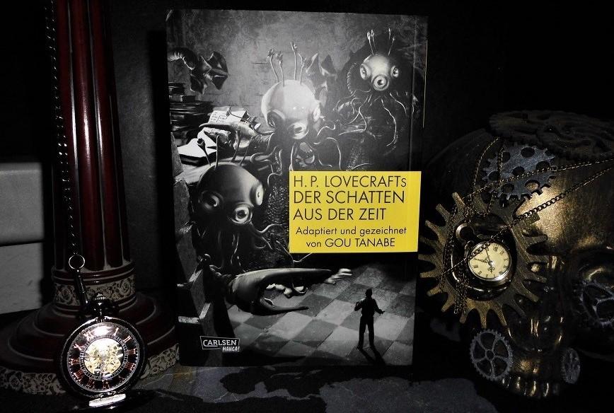 """Die deutsche Version des Carlsen-Verlages von Tanabes """"Der Schatten aus der Zeit"""""""